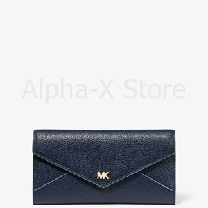NWT Michael Kors Large Two-Tone Pebbled Leather En
